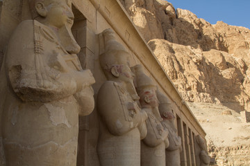 The Mortuary Temple of Hatshepsut, also known as the Djeser-Djeseru, is one of the incomparable monuments of ancient Egypt