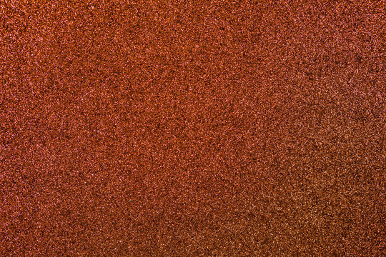 Bronze Glitter Background