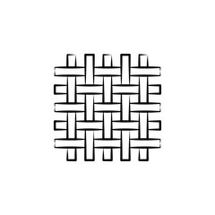Wool, weave icon. Element of art and craft icon. Thin line icon for website design and development, app development. Premium icon