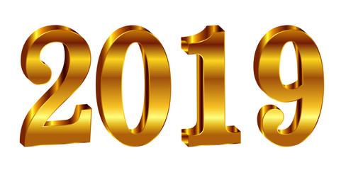2019 西暦 新年 アイコン