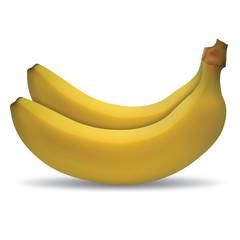 yellow banana twin