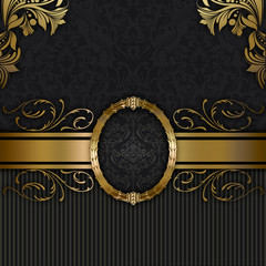 Wall Mural - Decorative luxury background.