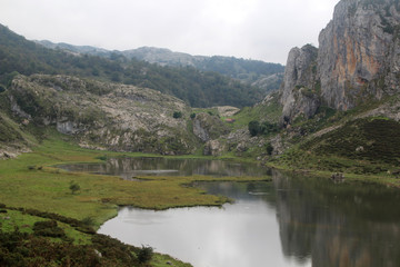 The Lakes of Covadonga, Spain