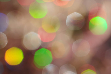 Abstract bokeh backlight background.