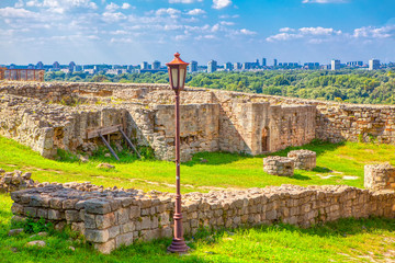 Ancient Kalemegdan Fortress in Belgrade Serbia