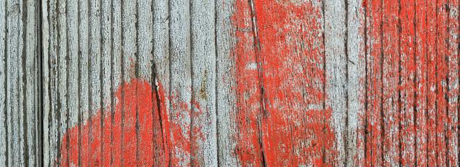 alte Farbe auf Holz Banner