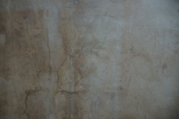 background wall with old plaster and putty