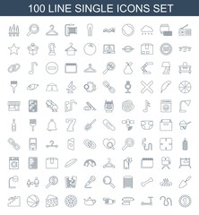 single icons. Trendy 100 single icons. Contain icons such as casino chip, water hose, kick scooter, sausage, camera, teapot, Casino chip, cheese. single icon for web and mobile.