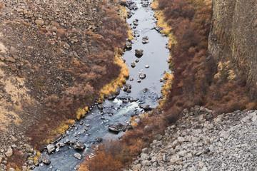 Crooked River at Peter Skene Ogden Park in Oregon