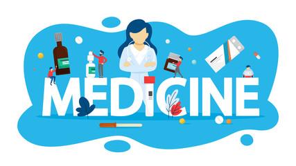 Medicine concept. Idea of healthcare and pharmacy