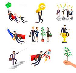 character busimen. Business character busimen. Business infographic