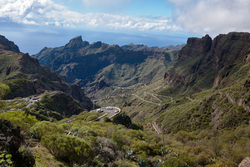Masca Village in Tenerife. Canary Islands, Spain.