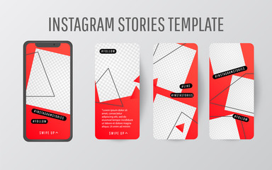 Editable Stories template. Streaming.