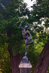 Bronze sculpture Mercury-Hermes