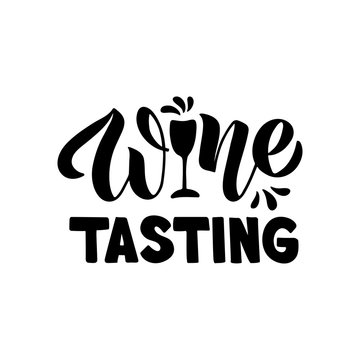 Wine lettering