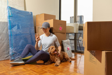 moving into city apartment