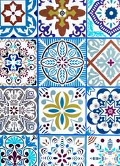 Mexican Talavera ceramic set. Traditional mexican talavera ceramic from Puebla