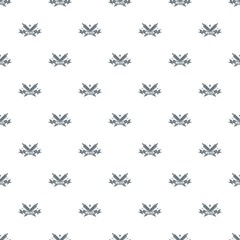 Fountain pen pattern vector seamless repeat for any web design