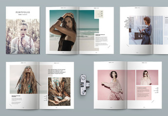 Portfolio/Magazine Layout