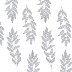 leafs pattern isolated icon