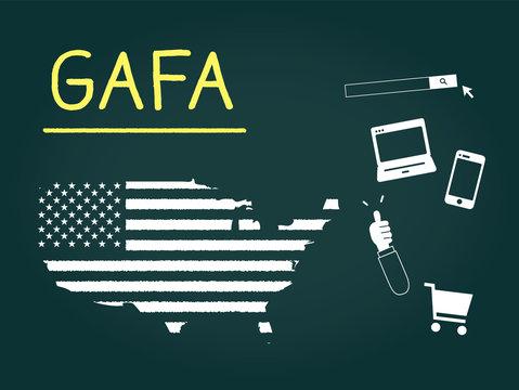 アメリカ、ITイメージ
