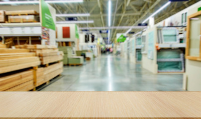 Shop for the sale of building materials. Planks, windows, flooring.