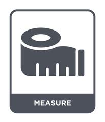 measure icon vector