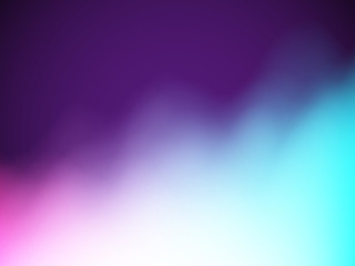 Abstract beautiful gradient background. Polar lights, colored fog or smoke. Blurry coloured background. Bright colorful blend, EPS10 vector illustration.