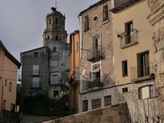 Fonz. Town of Huesca. Aragon,Spain