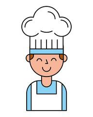 chef boy character with hat