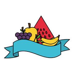 fruits fresh healthy food banner