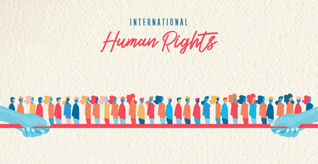 Human Rights awareness month united people