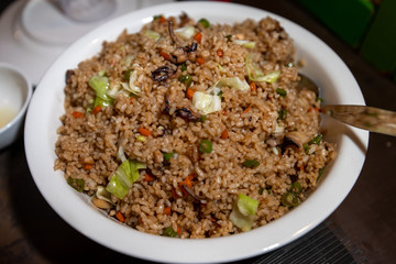 Seafood fried rice in Palawan