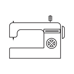Sewing machine icon. Element of cyber security for mobile concept and web apps icon. Thin line icon for website design and development, app development
