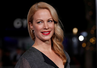 "Cast member Alison Eastwood poses at the premiere of ""The Mule"" in Los Angeles"