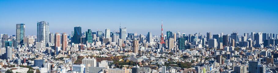 都市・都市風景イメージ 東京 ワイド
