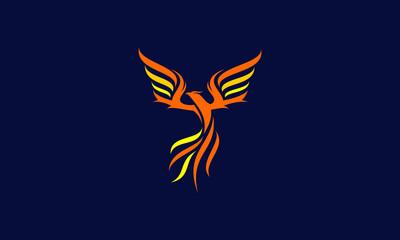 phoenix logo vector icon