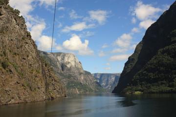 Fjord Nærøyfjord Norvège Scandinavie - Nærøyfjord Fjord Norway Scandinavia