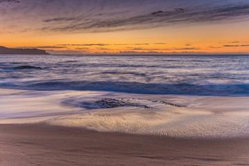 Dawn Seascape from the Beach
