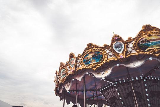 Children's Carousel at an amusement park