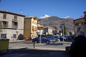 Castejon de Sos. Village of Huesca. Aragon, Spain