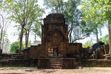Prasat Mueang Sing Historical Park Kanchanaburi Province, Thailand.