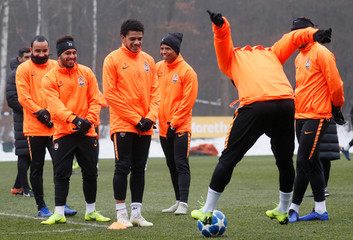 Champions League - Shakhtar Donetsk Training