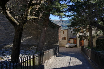Benasque. Village of Huesca in Aragon, Spain