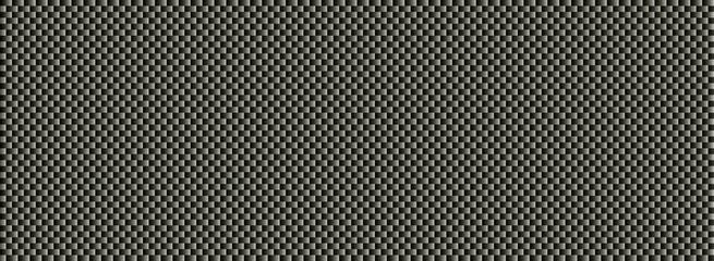 Banner schwarz grau mit Flechtstruktur