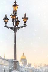 Winter St. Petersburg. Russia