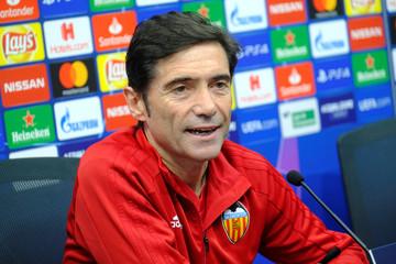 Champions League - Valencia Press Conference
