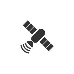 Satelite icon flat