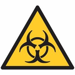 Biohazard symbol illustration
