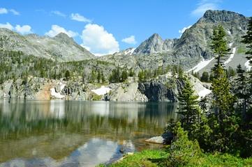 Alpine lake views